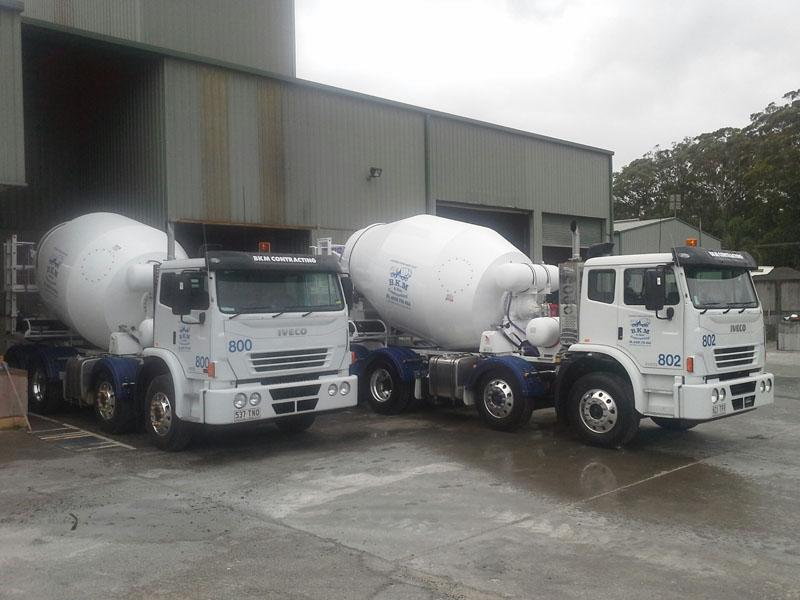 concrete truck hire